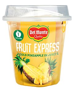 DEL MONTE FRUIT EXPRESS GOLD ANANASPALAT MEHUSSA 227/132G