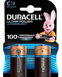 DURACELL ULTRA POWER C ALKALIPARISTO 2KPL