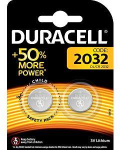 DURACELL ELECTRONICS 2032 NAPPIPARISTO 2KPL