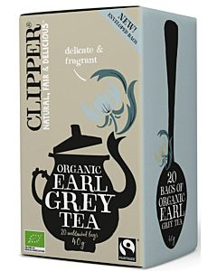 CLIPPER LUOMU EARL GREY TEE 40G/ 20 PUSSIA