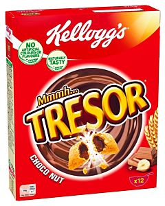 KELLOGG'S MMMH TRESOR CHOCO `N NUT 375G