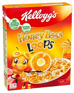 KELLOGG'S HONEY BSSS LOOPS 330G