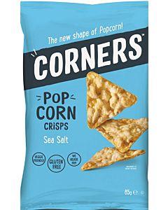 CORNERS POP CORN CRISPS SEA SALT 85G