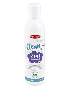BEST FRIEND CLEAN LEMMIKIN 2IN1 SHAMPOO 250ML