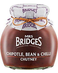 MRS BRIDGES CHIPOTLE-, PAPU- JA CHILICHUTNEY 290G