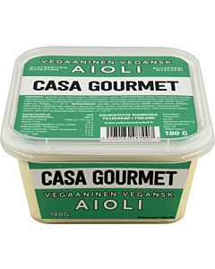 CASA GOURMET VEGAANINEN AIOLI 180G