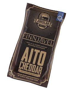JUKOLAN AITO CHEDDAR FINNJÄVEL 160G LAKTOOSITON