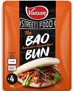 VAASAN STREET FOOD THE BAOBUN HÖYRYSÄMPYLÄ 4KPL/ 200G
