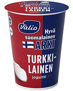 VALIO HYVÄ SUOMALAINEN ARKI TURKKILAINEN JOGURTTI 6% 400G LAKTOOSITON