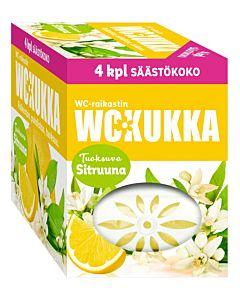 WC-KUKKA SITRUUNA WC-RAIKASTIN 4X50G