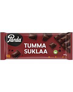 PANDA TUMMASUKLAALEVY 145G
