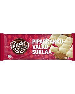 PANDA PIPARKAKKU VALKOSUKLAALEVY 135G