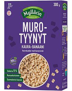 MYLLÄRIN MUROTYYNYT KAURA-BANAANI 300G