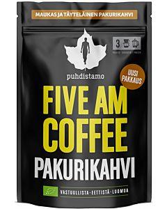 PUHDISTAMO LUOMU FIVE AM COFFEE PAKURIKAHVI 200G