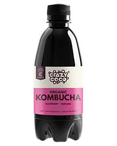 CRAZY COCO LUOMU KOMBUCHA VADELMA 330ML