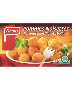 PAKASTE FINDUS POMMES NOISETTES 350G