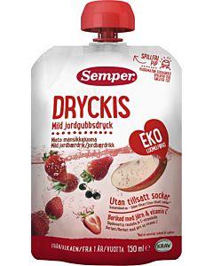 SEMPER DRYCKIS LUOMU MANSIKKAJUOMA 12KK 10X150ML