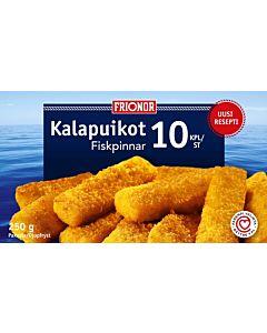 PAKASTE FRIONOR KALAPUIKOT 10KPL 250G