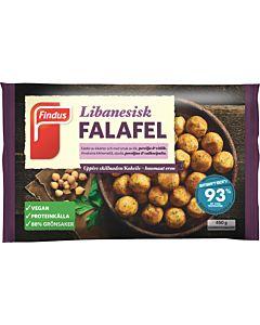 PAKASTE FINDUS TRADITIONAL FALAFEL PYÖRYKÄT 450G