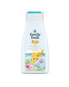 FAMILY FRESH KIDS SHOWER & SHAMPOO SUIHKUSAIPPUA 500ML