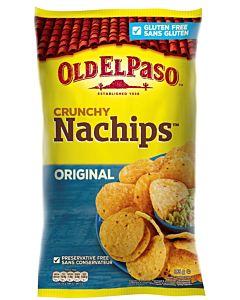 OLD EL PASO CRUNCHY NACHIPS ORIGINAL 185G