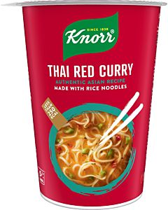 KNORR THAI RED CURRY RIISINUUDELIKUPPI 69G