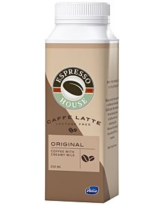 ESPRESSO HOUSE CAFFÈ LATTE ORIGINAL LACTOSE FREE 250ML
