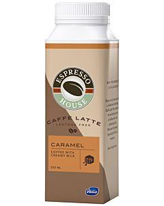ESPRESSO HOUSE CAFFÈ LATTE CARAMEL LACTOSE FREE 250ML