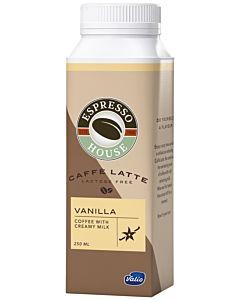 ESPRESSO HOUSE CAFFÈ LATTE VANILLA LACTOSE FREE 250ML