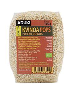 ADUKI KVINOA POPS LUOMU MURO 100G