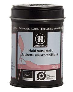 URTEKRAM LUOMU MUSKOTTIPÄHKINÄ JAUHETTU 25G