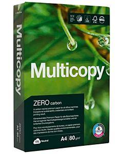 MULTICOPY ZERO KOPIOPAPERI A4 VALKOINEN 80G/500 ARKKIA RIISI