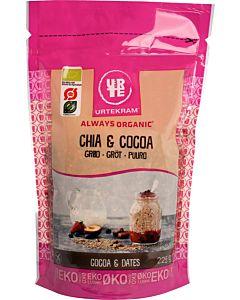 URTEKRAM LUOMU CHIA & COCOA PUURO 225G