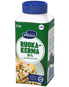 VALIO RUOKAKERMA 10% 3,3DL LAKTOOSITON