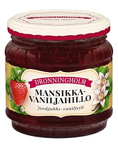 DRONNINGHOLM MANSIKKA-VANILJAHILLO 440G