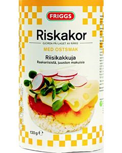 FRIGGS JUUSTO RIISIKAKKU 130G GLUTEENITON