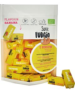 SUPER FUDGIO LUOMU BANAANIFUDGE 150G