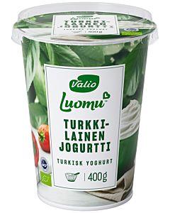 VALIO LUOMU TURKKILAINEN JOGURTTI 400G