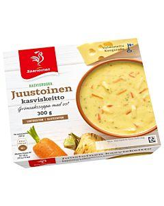 SAARIOINEN JUUSTOINEN KASVISKEITTO 300G GLUTEENITON