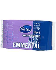 VALIO HYVÄ SUOMALAINEN ARKI EMMENTAL 625G LAKTOOSITON