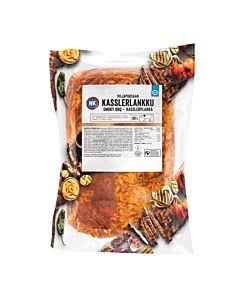 HK VILJAPORSAAN KASSLERLANKKU SMOKY BBQ N. 1.1-1.3 KG