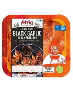 ATRIA GRILL & GLAZE KANAN FILEESIIVU BLACK GARLIC 450G