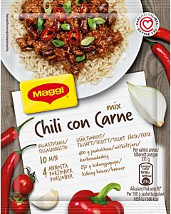 MAGGI MIX CHILI CON CARNE KASTIKEAINEKSET 65G