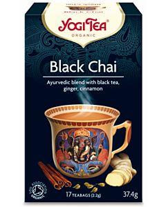 YOGI TEA LUOMU TEEJUOMA BLACK CHAI 17PS/37.4G