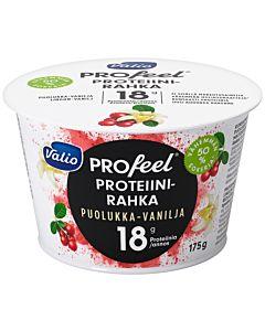 VALIO PROFEEL PROTEIINIRAHKA PUOLUKKA-VANILJA 175G LAKTOOSITON