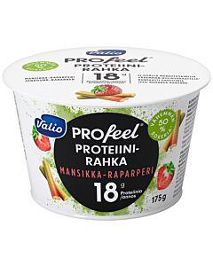VALIO PROFEEL PROTEIINIRAHKA MANSIKKA-RAPARPERI 175G LAKTOOSITON