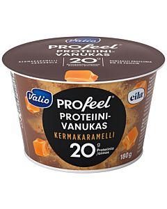 VALIO PROFEEL PROTEIINIVANUKAS KERMAKARAMELLI 180G LAKTOOSITON