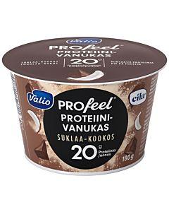 VALIO PROFEEL PROTEIINIVANUKAS SUKLAA-KOOKOS 180G LAKTOOSITON
