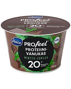 VALIO PROFEEL PROTEIINIVANUKAS MINTTUSUKLAA 180G LAKTOOSITON
