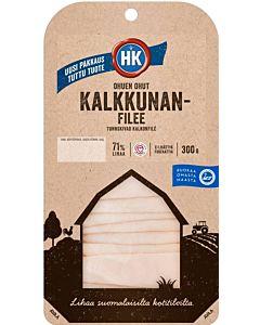 HK OHUEN OHUT KALKKUNAFILEE 300G GLUTEENITON